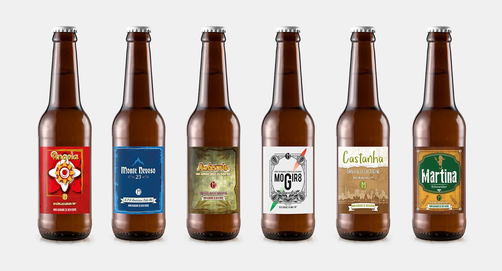 mockup birre Monangi per sito web